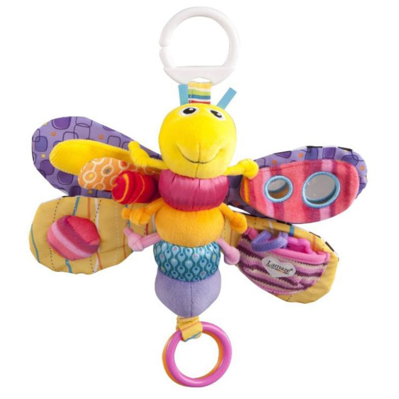 Educação infantil borboleta do bebê brinquedo do bebê chocalhos bichos de pelúcia Plush Toy 0-3 anos de idade(China (Mainland))