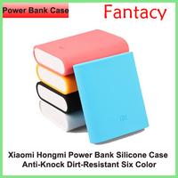 Original Xiaomi Power Bank Silicone Case For Xiaomi M2s M3 Red Rice Hongmi Anti Konck Dirt Colorful