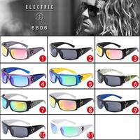 Electric Sunglasses Cycling Glasses Men Sport Designer oculos de sol Low Price brand eyewear Coating Hoyinc 6806