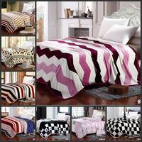 Hot! Thickened golden mink cashmere blanket blanket. Cloud mink cashmere cashmere coral cashmere winter sheet 150*200