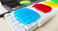 Hot Universal Cyber Magic Cleaner Keyboard Clean Glue Wipe Compound High Tech 4 color