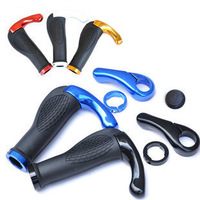 Bilateral Locking Ergonomic Nonslip Rubber MTB Moutain Bike Road Bicycle Cycling Accessories Handle Bar Grips