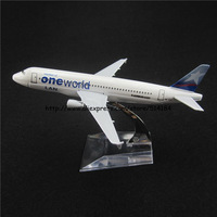 16cm Alloy Metal Chile Air Lan One World Airlines Airbus 320 A320 HC-CLC Airways Plane Model Airplane Model w Stand Aircraft Toy