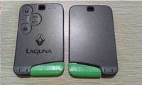 Brand New  Renault Laguna Smart Key Card Shell 3  Buttons FOB  Key Cover Case  WIth Valet Key