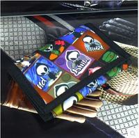 Free Shipping!New Fashion High Quality Men Canvas Wallet Short Men Purses Wallets C3280