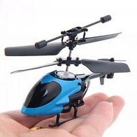Free shipping Hot Sale electronic toys remote control toys 8cm mini metal 3.5CH RC helicopter model toys with gyro HT469
