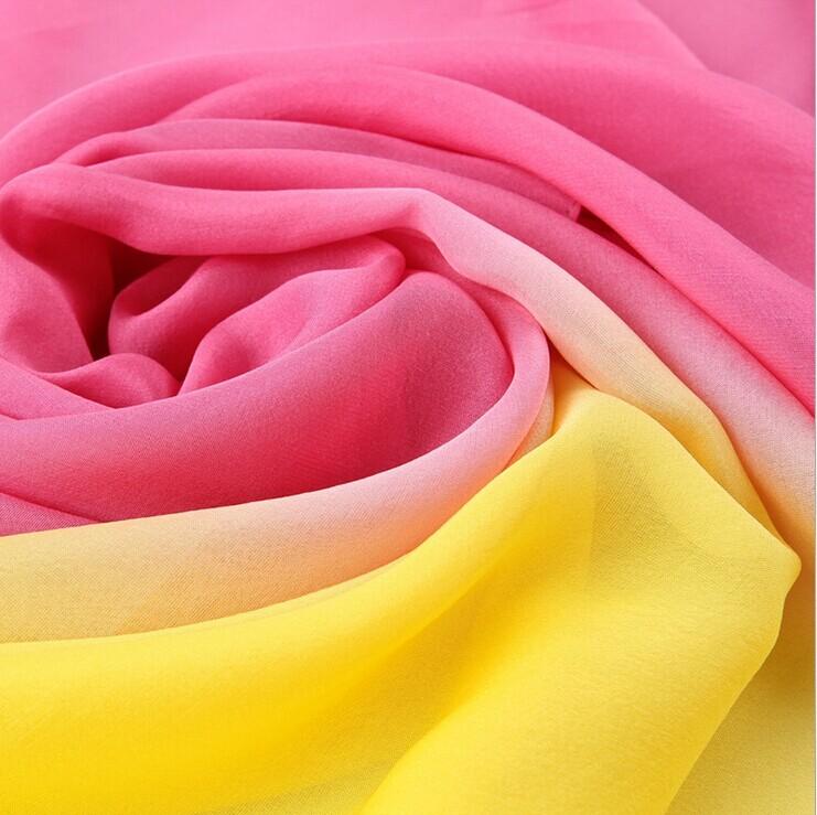Hand painted large scarf 100% silkworm silk scarves silk shawl silk printing Lady's Scarf(China (Mainland))
