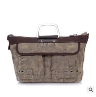 Retail 2014 bag for woman fashion big canvas shoulder bags lady multifunction handbag free shipping