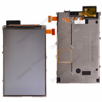 100% Original LCD with iron For Nokia Lumia N820 820 lcd part replacement Free Shipping