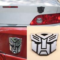 Hot Sale New fashion Designed 3D Logo Emblem Badge Graphics Decal Car Sticker Decoration drop Shipping CAR-0045