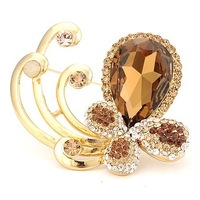 Butterfly crystal brooch NEOGLORY Jewelry outlets Clearance sale last 1 piece NB-002 flash sale
