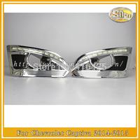 LED DRL  fits for  Chevrolet Captiva  2014  LED Daytime Running Light  free shipping