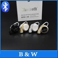 Free Shipping New 2014 Stereo Headset Bluetooth Earphone Headphone mini V4.0 wireless Bluetooth Handfree Universal for All Phone