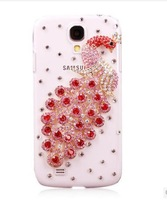 Samsung S4 phone shell diamond drill shell s4 mobile phone sets with Samsung I9500 I9508 phone holster shell