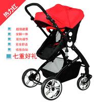 Baby stroller two-way folding light the 4runner shock absorption baby stroller child cart