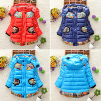 1 Set/Lot Unisex Children Down&Parka Boys Girls Winter Coat Thicken Kids Jackets Coats Children Winter Outwear Clothing