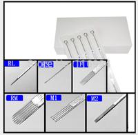 50 Pcs Sterile Disposable Tattoo Needles Mixed Sizes 3RL 5RL 7RL 9RL 5RS 7RS 5M1 7M1 9M1 9RM