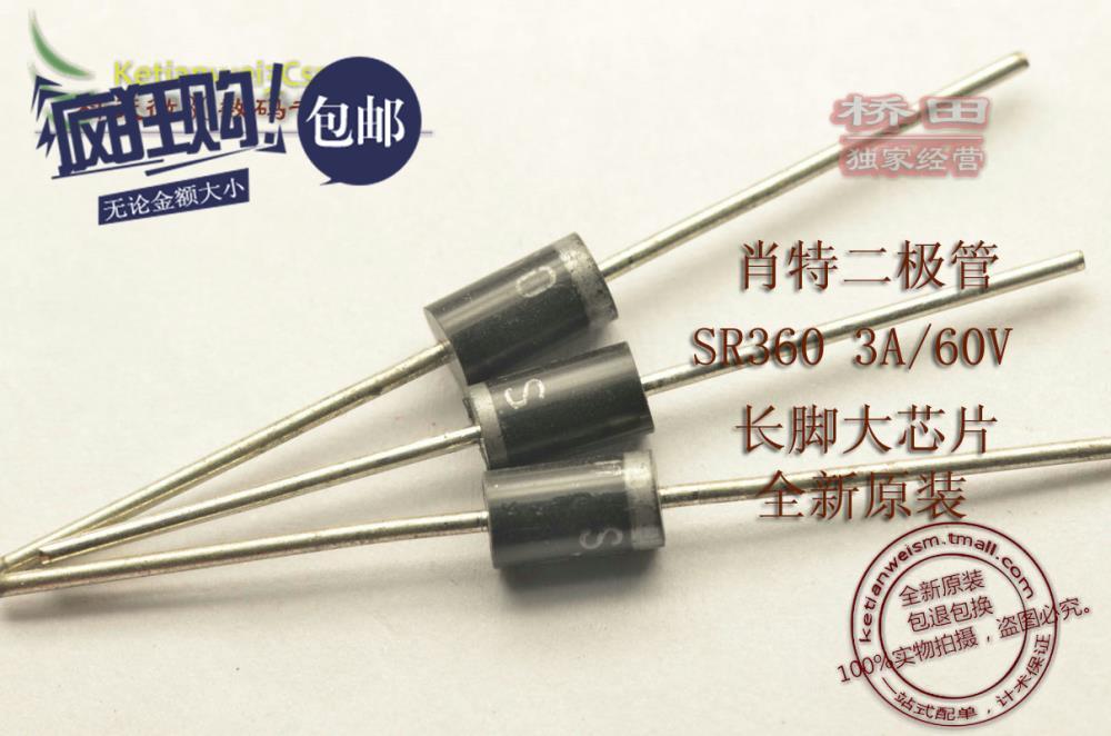 Schottky Diode Construction Schottky Diode Sr360 3a 60v