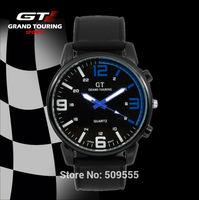 Military Army Cool Racing Watch Casual Cycling F1 GT Wristwatch Dropship Rubber Silicone Watch Men Women Gift
