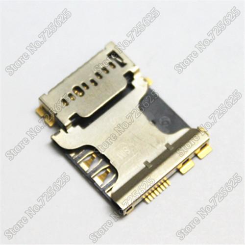 Cell phone Sim Card Readers for Samsung I879 I8262 I9128 I8552 I9128V SIM holder connector socket