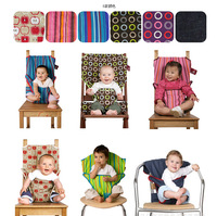 Portable baby safety chair straps chair backpack chair covers 6 color bags softcover