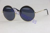 Retro style Round frames SMU51QS Black gold Ultralight Metal frame  Fashion wild Elegant gentleman