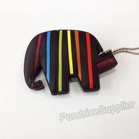 NEW cartoon pen drive colorful Elephant USB flash drive 2.0 Pen stick memory U disk 4GB 8GB 16GB 32GB
