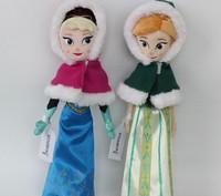 40cm Frozen princess cartton Stuffed Animals Toys Plush Doll frozen Anna Elsa princess  gift for kids stuffed toys for girl