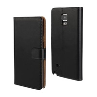 Luxury Top Leather Magnetic Wallet Leather Case Cover For Samsung Galaxy Note 4 Free Shipping