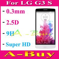 Premium Tempered Glass Screen Protector For  LG G3 S / G3 Beat / G3 Mini / G3 S Dual D722 D724 D725 D728 D729