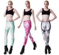 Women Sport Yoga GYM leggins 2014 Unique Design Fitness Legging Woman Pencil Pants Casual Bottom Muscle Leggings S16-13