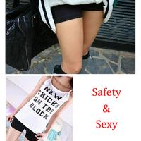 Stretch Fashion Briefs Boxer Shorts Underwear Girls Safety Short Pants Women V3NF