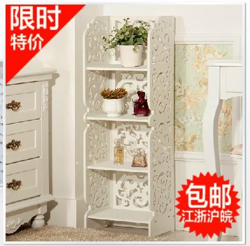 Special new bathroom shelf toilet rack landing aircraft storage rack bookstack phone storage(China (Mainland))