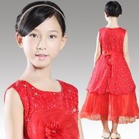 High Quality Evening Dress Chiffon New Fashion Children Formal Flower Girl Dresses Vestido de Daminha