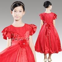 New Fashion Formal Evening Pageant Dresses For Wedding Vestido de Daminha Flower Girl Dress