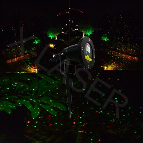 Red&Green Garden laser light with IP 65 waterproof for garden decoration/elf christmas lights/Festival lighting/garden lite(China (Mainland))