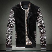 2014 autumn outerwear male jacket slim casual jacket plus size outerwear men jacket