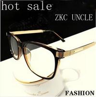 fashion brand men glasses frame vintage eyeglasses brand plain mirror black  glasses men oculos de grau women.free shipping Y24