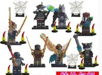 SY170 Building Blocks Chima Ninja Eagle Lion Man crocodile animal Action Figures Minifigures Bricks