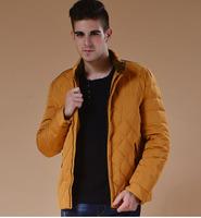 2014 Winter Men's Clothes Down Jacket Coat Slim Collar Winter Jacket Men M-XXXL