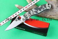 Spyderco C81GPCMO2 Folding Knife S30V Blade Camping Hunting Knives With Digital Camo Handles, FREE SHIPPING 2PCS/LOT