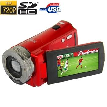 Hd-56e, Hd 720 P 16.0 мега 16X цифровой анти-shake цифровая видеокамера с 2.7 дюймов TFT сенсорный экран