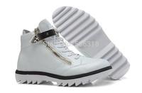 GZ origianl punk genuine leather height increasing teeth bottom Star style men and women lovers sneakers,EUR35-45,brand shoes