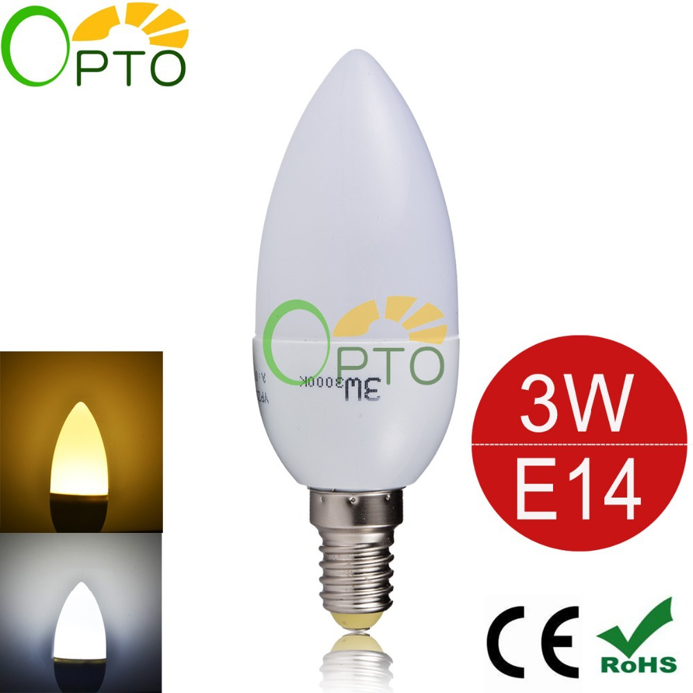 free shipping led candle light 3W E14 1pcs/lot 220V 230V 240V SDM2835 warm/cool white led candle bulb led lamp High Brightness(China (Mainland))