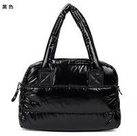 Winter Cotton Women Handbag Casual Top quality  women shoulder bag  warm handbag large black red bags free shipping promotion