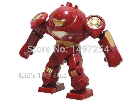 Big Iron Man vs Hulk Big Iron Man Hulk Buster