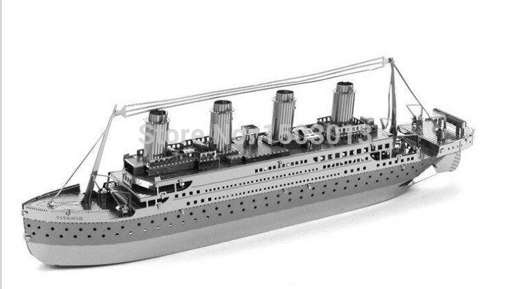 Titanic 3d Puzzle Jouets