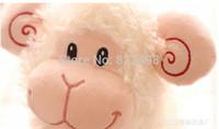 Free Shipping 2015 New Year sheep toy Gift 20CM sheep Plush toy Valentine's Day gift birthday gift