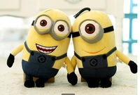 2015 New Year Gift Despicable me small yellow doll plush toys