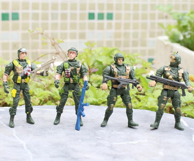 Savaş oyunu oyuncak aksiyon figürü 1 22 simülasyon özel kuvvetler